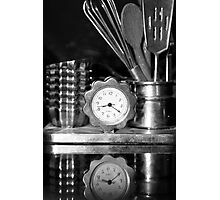 Time for cooking! Photographic Print