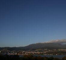 Hobart from Rosny Hill - Tasmania, Australia by TraceyLea