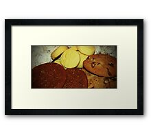 A Dish Full Of Cookies Framed Print