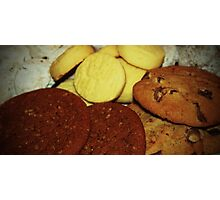 A Dish Full Of Cookies Photographic Print