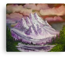PURPLE MOUNTAIN MAGESTY Canvas Print
