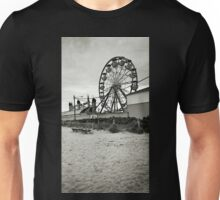 The Quiet in a Crowded Place - black and white Unisex T-Shirt