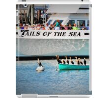 Tails Of The Sea - Whale Watch ready to leave... iPad Case/Skin