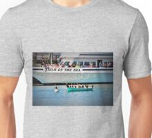Tails Of The Sea - Whale Watch ready to leave... Unisex T-Shirt