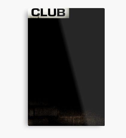 Club Metal Print