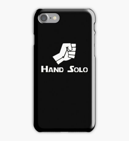 Hand Solo Type Parody iPhone Case/Skin