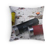 shotgun shells Throw Pillow
