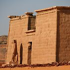 Temple at Wadi el Seboa by Laurel Talabere
