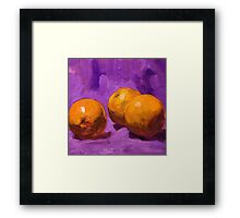 Purple 2 Framed Print