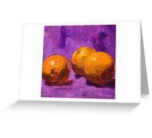 Purple 2 Greeting Card