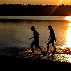 Reid Lagoon Sunset by moosewinks