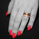 Red nails by Dean Messenger