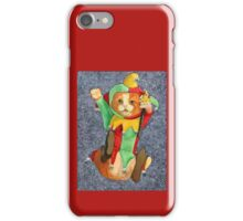 Jester Cat with Balls iPhone Case/Skin