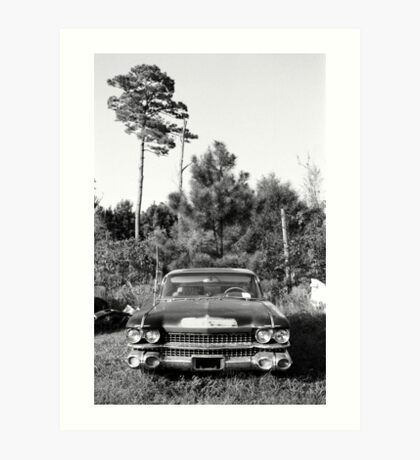 The End for a Cadillac Art Print