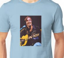 Jackson Browne- Smiling with Guitar Unisex T-Shirt