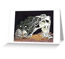 Moon Reaper Greeting Card