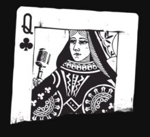 Queen of Clubs by raevan