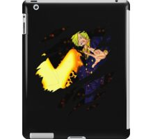 one piece sanji anime manga shirt iPad Case/Skin