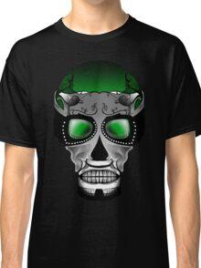 Dia De Los Muertos, Savage Green Classic T-Shirt