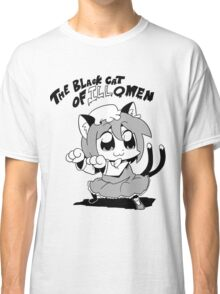 the black cat Classic T-Shirt