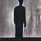 Silhouette Man by Jarrad .