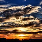 Sunset Sky - Newcastle NSW Australia by Bev Woodman