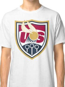 United States of America Quidditch Logo Large Classic T-Shirt