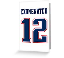 Brady Exonerated Greeting Card