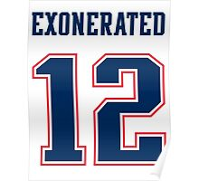 Brady Exonerated Poster