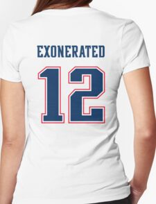 Brady Exonerated Womens Fitted T-Shirt