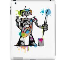 Robot painter  iPad Case/Skin