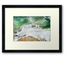 The Walk of the Listening Framed Print