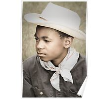 Young Cowboy Blues Poster