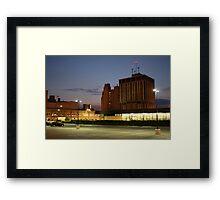 Flint Sunset Framed Print