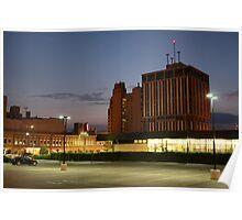 Flint Sunset Poster
