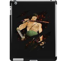 one piece roronoa zoro anime manga shirt iPad Case/Skin
