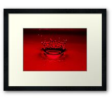 Crown Royale Framed Print