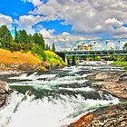 &quot;Spokane Falls - Spokane WA&quot; by Whitney Mason