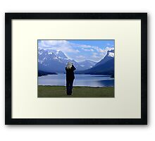 Capturing Paradise Framed Print