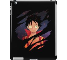 one piece monkey d luffy anime manga shirt iPad Case/Skin