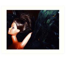 01-22-11  Black Swan Art Print