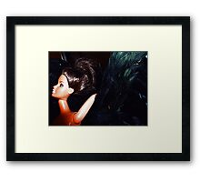 01-22-11  Black Swan Framed Print