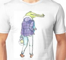 Winter Crocodile  Unisex T-Shirt