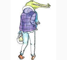 Winter Crocodile  Unisex T-Shirt