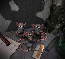 Lab Rats Unite by mdkgraphics