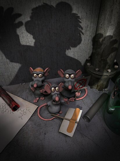 Lab Rats Unite by mdkgraphics