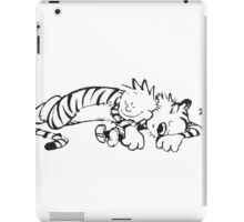 Calvin & Hobbes Sleeping iPad Case/Skin