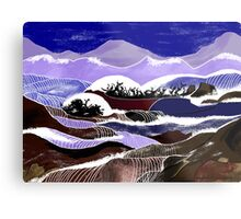 """""""Blending Waters""""  - The streams down the mountains. Metal Print"""