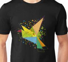 Paper bird paper plan  Unisex T-Shirt