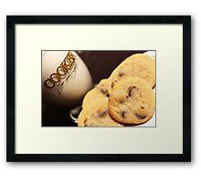 Cookies & Milk Framed Print